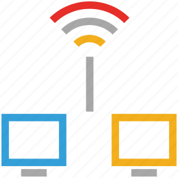 network, networking, servers, wireless internet icon