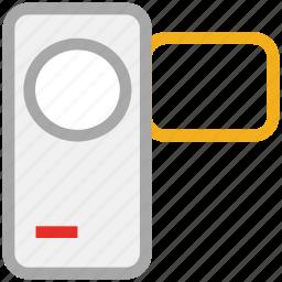 cam, camcorder, camera, video camera icon