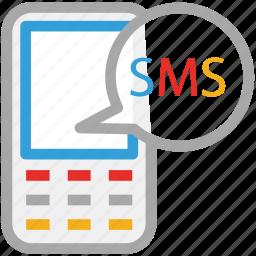 chat, communication, mobile communication, mobile messaging icon