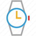 time, timer, watch, wrist watch icon