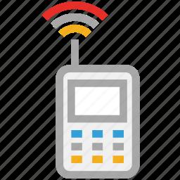 mobile, mobile internet, signals, wifi icon