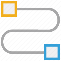 connector, internet connector, network connector, power supply connector icon