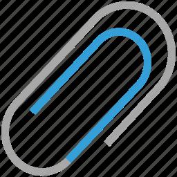 attach file, attachment, clip, paperclip icon