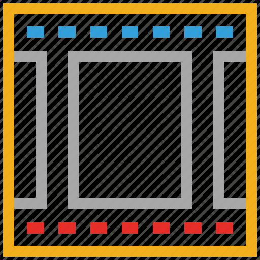 cinema film reel, film reel, mm film reel, movie film reel icon