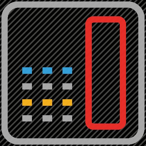 communication, land line, land line phone, telephone set icon
