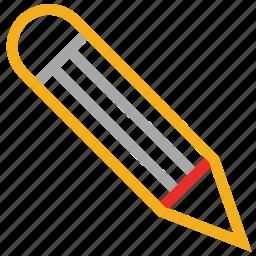 edit, pencil, write, writing tool icon