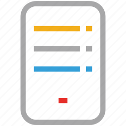 mobile message, mobile text, text, text format icon
