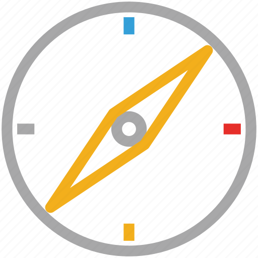 compass, direction, navigate, navigation icon