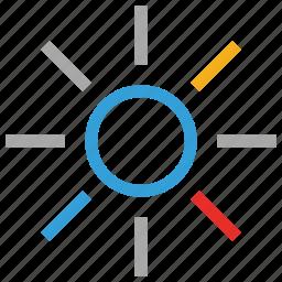day, sun, sunny, sunny day icon