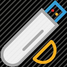 drive, flash, memory stick, storage, usb icon