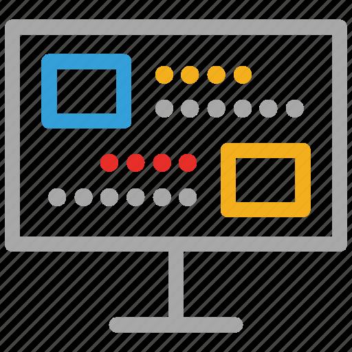 display, lcd, lcd monitor, television icon