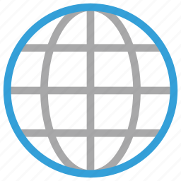 globe, glossy globe, mazarine globe, technology theme icon