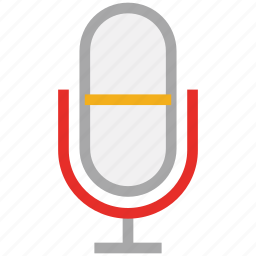 mic, microphone, retro mic, studio mic icon