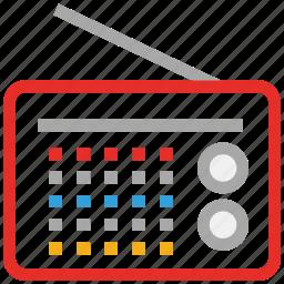 old radio, radio, retro radio, vintage icon