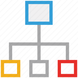 business, hierarchy, hierarchy concept, structure icon
