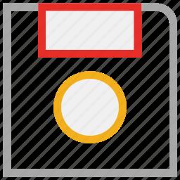 disk, drive, floppy, storage icon