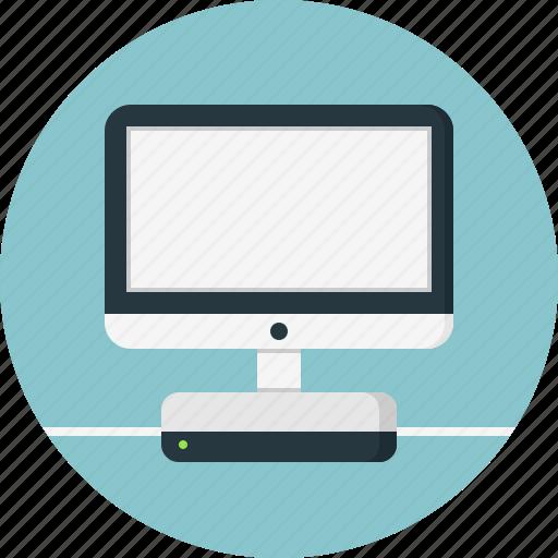 Computer, desktop, display, internet, modem, monitor, screen icon - Download on Iconfinder