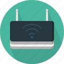 antenna, hardware, internet, range, router, wifi, wireless icon