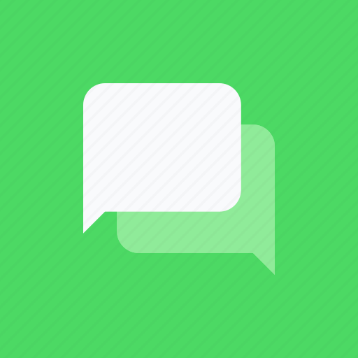 adaptive icon, chat, communications, devices, ios, material grid, message icon