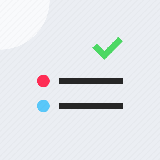 adaptive icon, check list, communications, devices, ios, material grid, reminder icon
