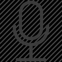 mic, microphone, speech, talk, text, voice icon