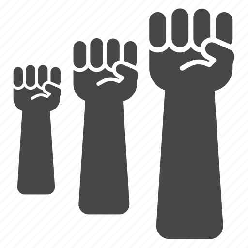 communist, fist, harmony, partisan, power, punch, team icon