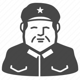 chairman, chinese, communist, dictator, leader, mao, zedong icon