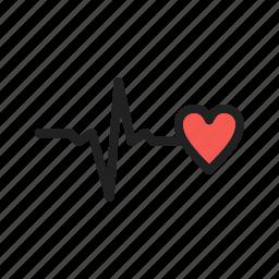 good, health, healthy, heart, life, medical, sign icon