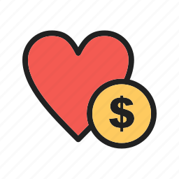 cash, community, donate, donation, funds, peoples, poor icon