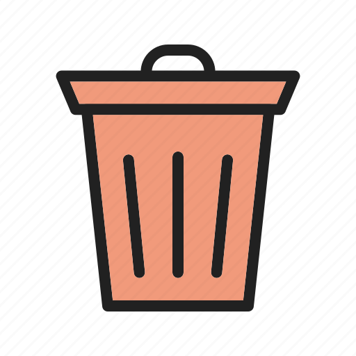 bags, bin, dirty, dump, environment, garbage, plastic icon