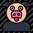 boar, community, hog, pig, piglet, porker