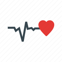 good, health, healthy, heart, life, medical, sign icon