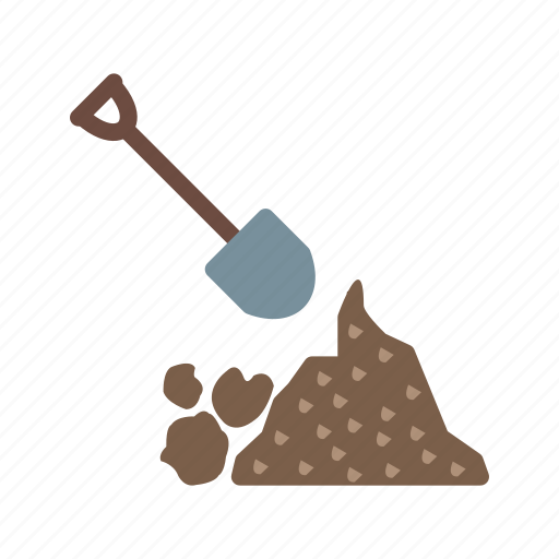 clean, construction, debris, disaster, garbage, management, prevention icon