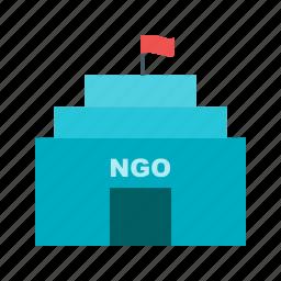 building, help, management, model, nonprofits, organization, strategy icon
