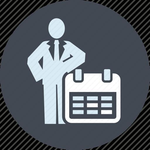 app, calendar, events, organizer, people, reminder, schedule icon