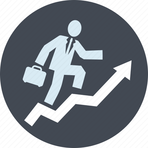 business, finance, growth, interest, line, planning, success icon