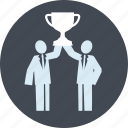 award, business, line, people, strategy, success, victory