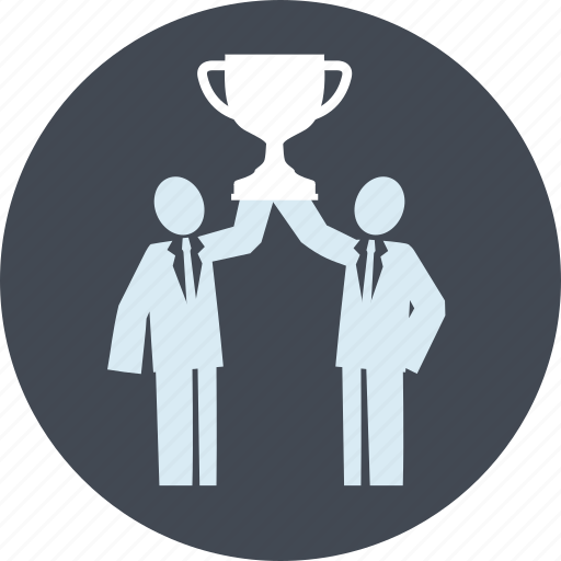 award, business, line, people, strategy, success, victory icon