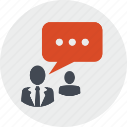 chat, communication, community, networking, people, social media icon