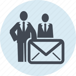 communication, contact, email, internet, marketing, people icon