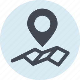 destination, gps, location, map, navigation, optimization, places icon