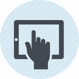 app, line, screen, tablet, technology, touch, website icon