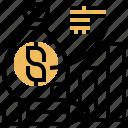 analysis, budget, finance, investment, profit icon