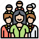 employee, human, personnel, recruitment, resources icon