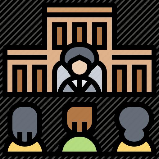 board, company, division, operating, organization icon