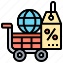 commerce, promotion, purchasing, sale, shop icon