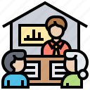 company, meeting, presentation, seminar, training icon