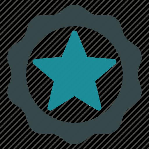 award, best, quality, seal, star, win, winner icon