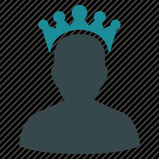 admin, crown, king, moderator, premium, royal, winner icon