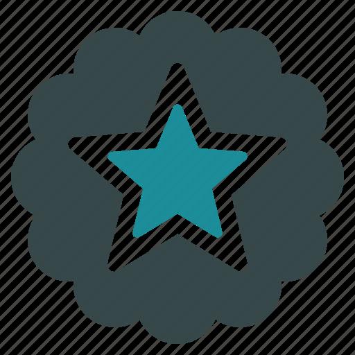 badge, best, favorite, favourite, guarantee, premium, star icon